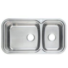 PRX-660 Rubine Stainless Steel Top Mount Sink