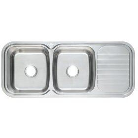 PRX-621 Rubine Stainless Steel Top Mount Sink