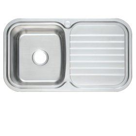 PRX-611 Rubine Stainless Steel Top Mount Sink