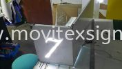 stainless door sign cut hollow  with LED lighting Gate Sign
