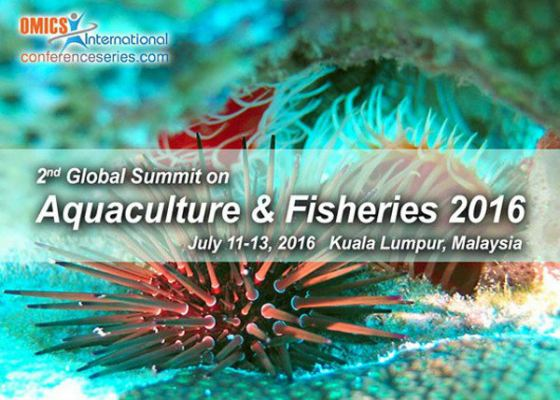 2nd Global Summit on Aquaculture And Fisheries 2016