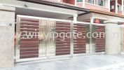 WAE 1752 Stainless Steel Folding Gate and Aluminum Plate