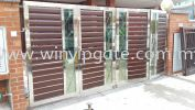 WAE 1753 Stainless Steel Folding Gate and Aluminum Plate