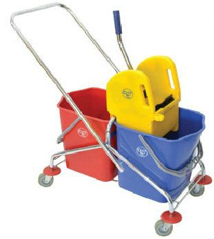 EH Trolley Double Bucket