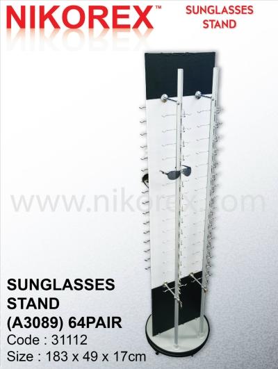 31112-SUNGLASSES STD(A3089)-64pair
