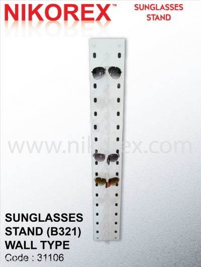 31106-SUNGLASSES STD(B321)-WALL TYPE