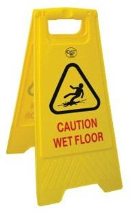 EH A - Standing Caution Sign Safety Equipments