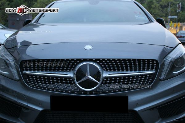 Mercedes Benz A-class W176 Diamond Grill Revo