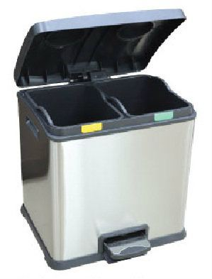 EH Recycle Rejoice Step Bin 24L