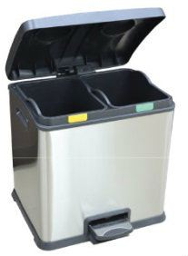 EH Recycle Step Bin 60L