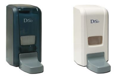 EH DURO® 1000ml Soap Dispenser ' Hospital ' 9507 Soap Dispenser/Toilet Seat Sanitizer Dispenser