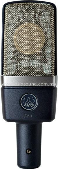 C214 Broadcast Microphones AKG