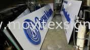 Signboard with 3D lettering suitable for corporate (click for more detail) Signboard / Lighting Signboard