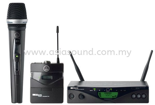 WMS470 Wireless Microphones AKG