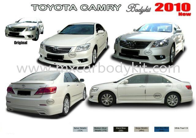 TOYOTA CAMRY 2010 AM STYLE BODYKIT CAMRY 2009 - 2011 TOYOTA