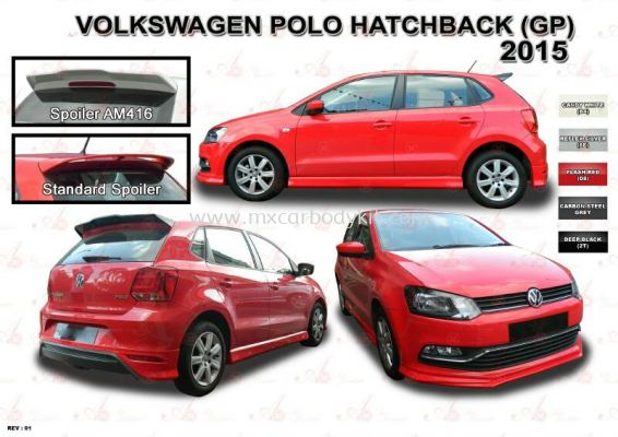 VOLKSWAGEN POLO HATCHBACK (GP) 2015