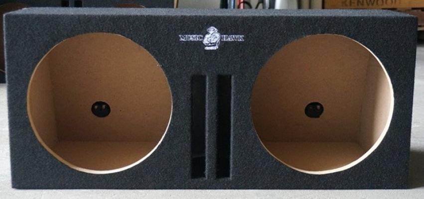 "MH-039 Music Hawk 12"" Woofer Box"