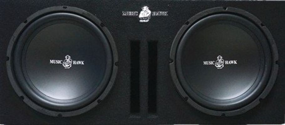 "MH-1228 12"" Woofer + MH-12 Double Woofer Box"