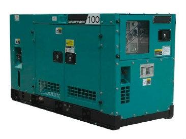 100KVA Sound Proof Diesel Generator