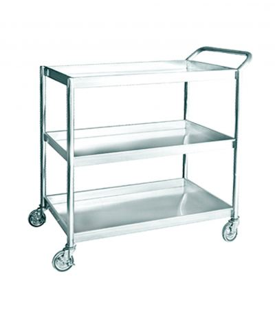 EH Stainless Steel 3 Tiers Trolley 1102