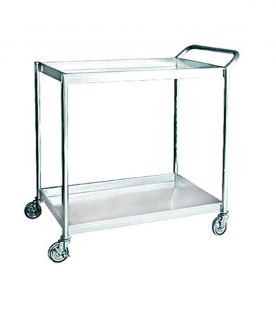 EH Stainless Steel 2 Tiers Trolley 1104