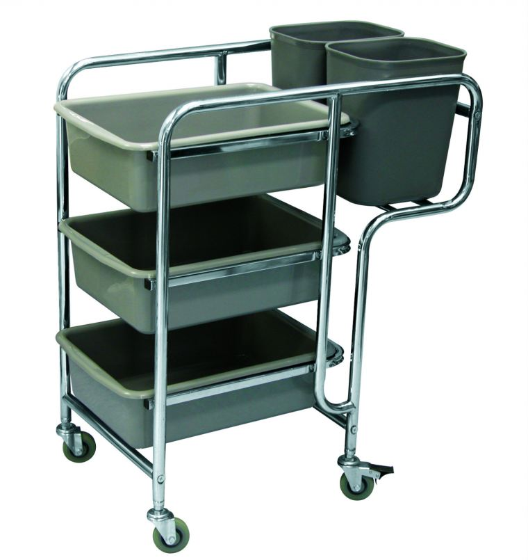 EH Restaurant Cart RC-308 Cart Trolley/Front Office/House Keeping/Restaurant/Kitchen