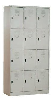 12 COMPARTMENT LOCKER