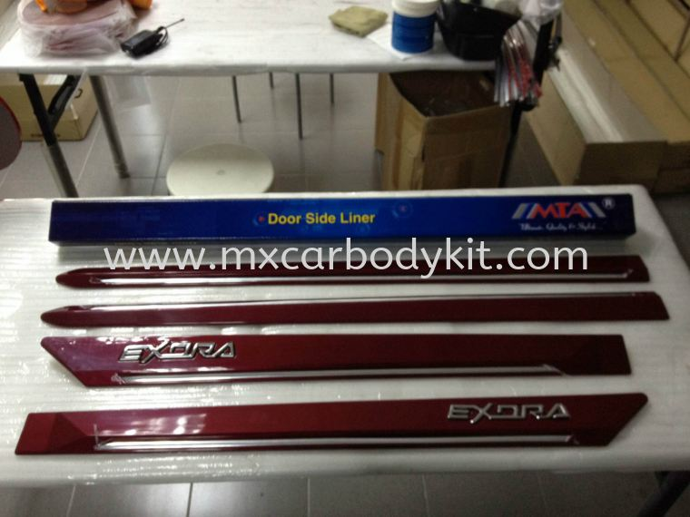 PROTON EXORA DOOR MOULDING  DOOR MOULDING ACCESSORIES AND AUTO PARTS