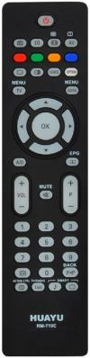 RM-719C PHILIPS LCD TV REMOTE CONTROL  PHILIPS LCD/LED TV REMOTE CONTROL