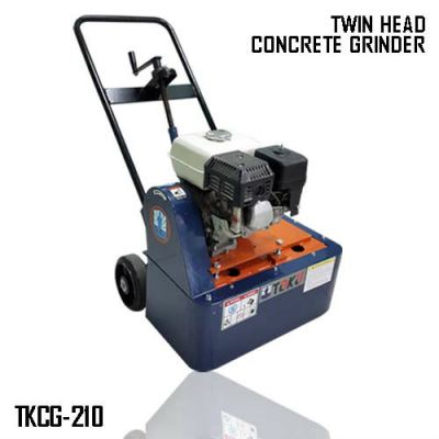 Twin Head Concrete Grinder (TKCG-210) Petrol Engine