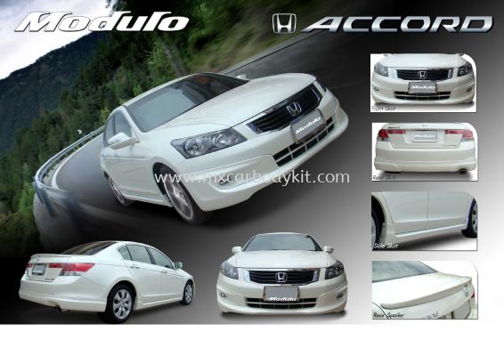 HONDA ACCORD 2008-2010 MODULO BODY KIT + SPOILER