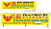 advertising signboard design for car dealer  Design