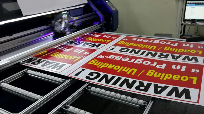 printing on 4x8ft 3mm polycarbonate plate