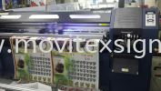 uv printing on cloth metirial  Glass Display