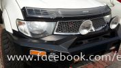 MITSUBISHI TRITON FRONT BULL BAR JUNGLE BRAND Imported Bull Bar