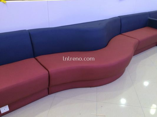 Commercial Custom made booth seating with farbic (FREE QUOTATION)
