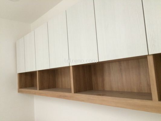 Custom made wall hang study cabinet in Puchong (FREE QUOTATION)