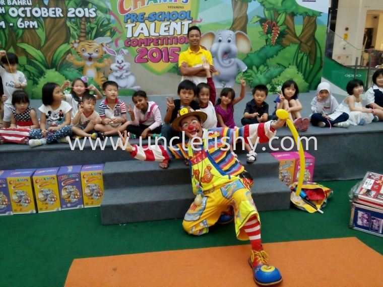 CHAMPS PRE-SCHOOL TALENT COMPETITION 2015