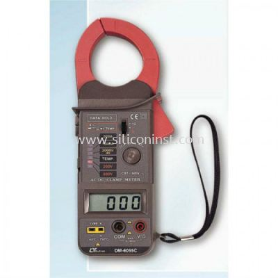 Lutron DCA / ACA Clamp Meter - DM-6055C