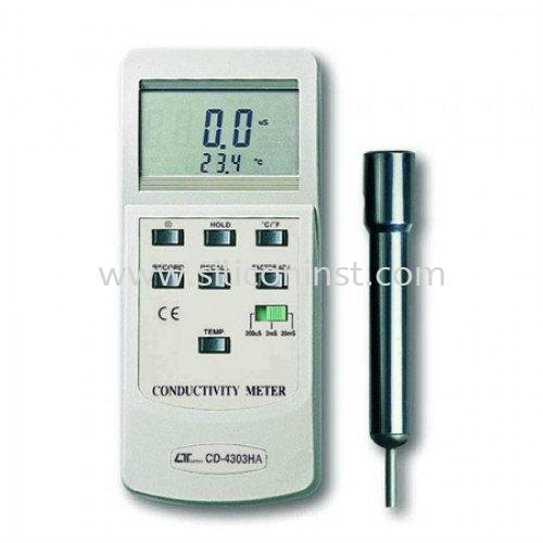 Lutron Conductivity Meter - CD-4303HA Conductivity Series Lutron Malaysia, Selangor, Kuala Lumpur (KL), Johor Bahru (JB), Penang Supplier, Suppliers, Supply, Supplies   SIL Technology Sdn Bhd