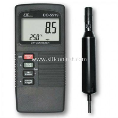 Lutron Dissolved Oxygen Meter (two display) - DO-5519