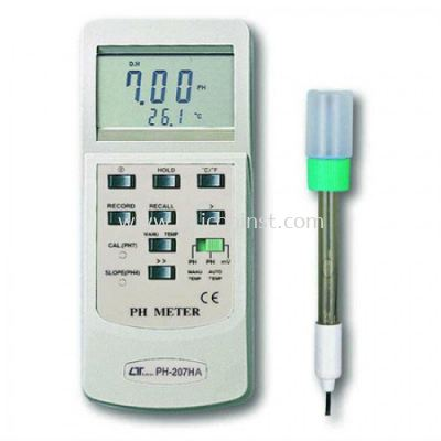 Lutron PH Meter - PH-207HA