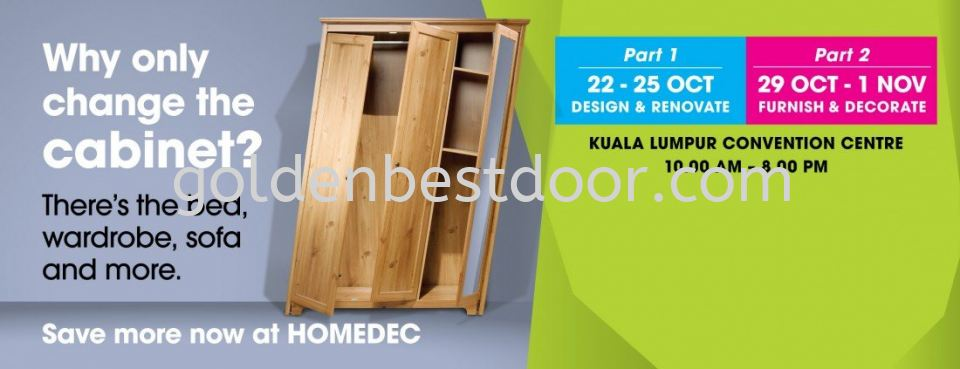 HOMEDEC 23-25 OCT 2015 KLCC