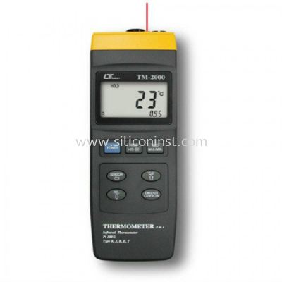 Lutron Thermometer (3 in 1) - TM-2000
