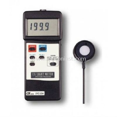 Lutron UVC Light Meter (RS232) - UVC-254