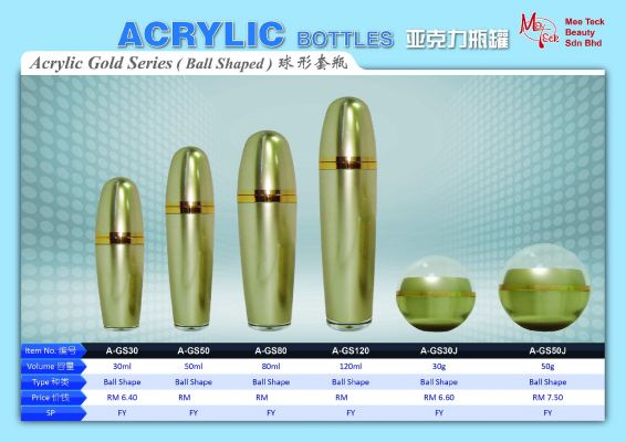 Acrylic Gold Series (Ball Shaped)