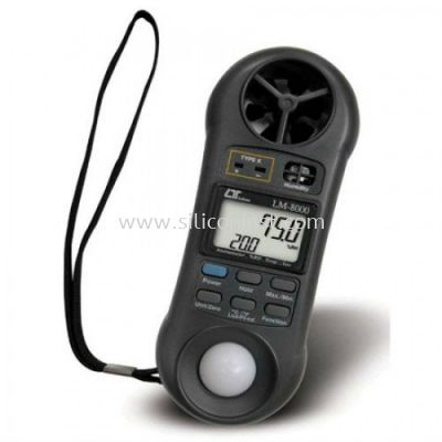 Lutron 4in1 Anemometer, Humidity Meter, Light Meter, Thermometer