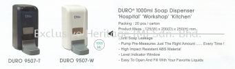 DURO 9507-W Soap Dispenser Soap Dispenser and Toilet Seat Sanitizer Dispenser