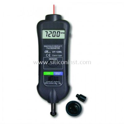 Lutron Laser Photo / Contact Tachometer - DT-1236L