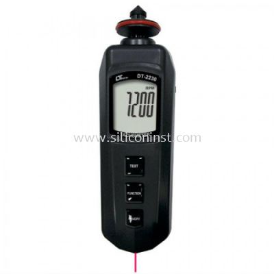 Lutron Photo / Contact Tachometer (pocket type) - DT-2230